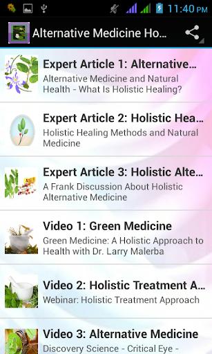 Alternative Medicine Holistic