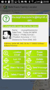 MobiTrack Family GPS- screenshot thumbnail