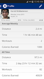 MapMyFitness+ Workout Trainer- screenshot thumbnail