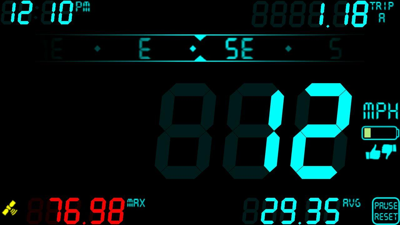 DigiHUD Speedometer - screenshot