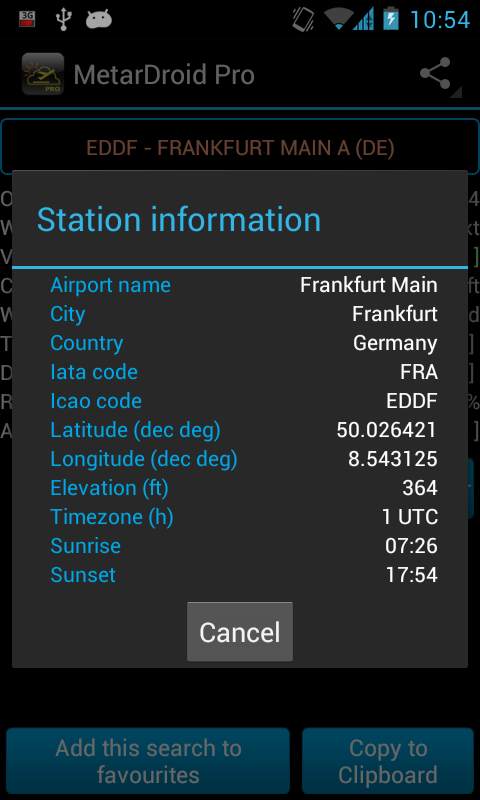 MetarDroid Pro ( Metar -Taf ) - Android Apps on Google Play