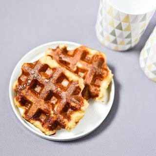 Liège-Style Belgian Waffles