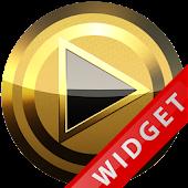 Poweramp Widget Black Elegance