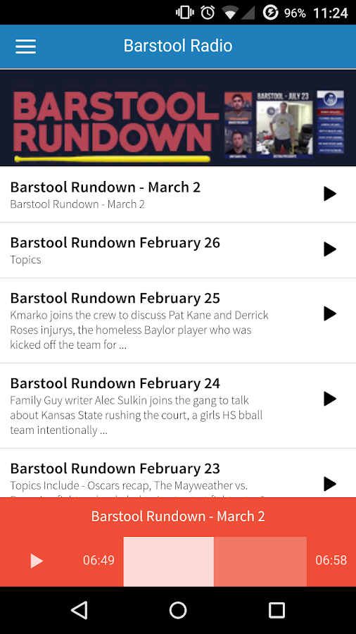 Barstool Sports- screenshot
