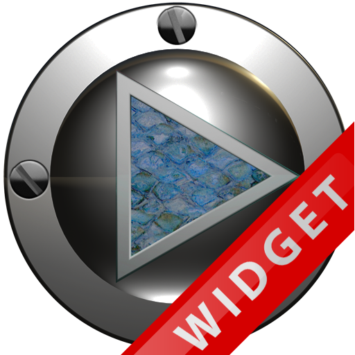 Poweramp Widget Lightblue Snak