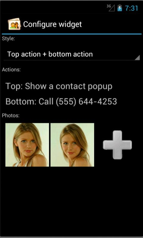 ActivePhoto Widget LITE- screenshot