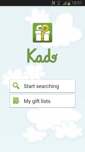 Kado. Gift finder