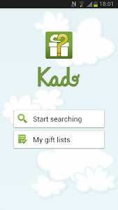 Kado. Gift finder screenshot 0