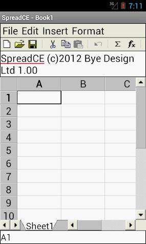 SpreadCE Screenshot