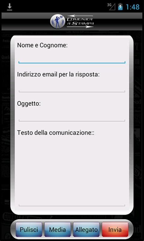 Comunica A Stampa (Demo) - screenshot