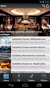 Celebrity Cruises: News by CSN screenshot 0