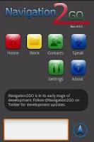 Screenshot of Navigation2GO
