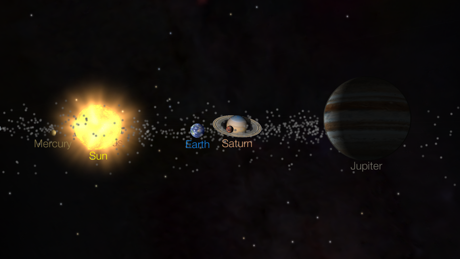 Solar Walk Free - Orrery 3D- screenshot