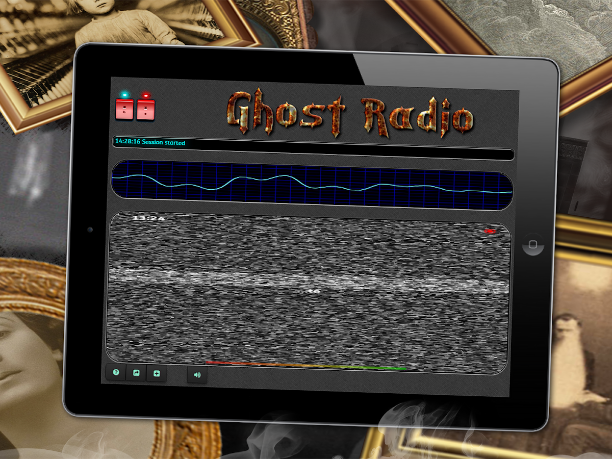 Paranormal Ghost EVP/EMF Radio- screenshot
