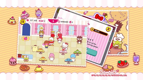 Hello Kitty Cafe Seasons! - screenshot thumbnail