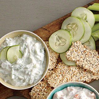 Cucumber and Dill Dip.