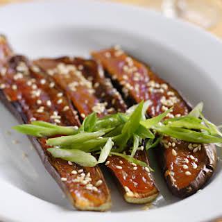 Nasu Dengaku (Japanese Eggplants Broiled with Miso).