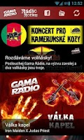 Screenshot of Gama Rádio