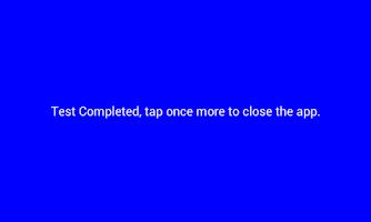 Screenshot of Dead Pixel Test