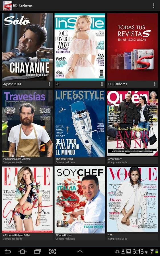 Revistas Digitales Sanborns - screenshot