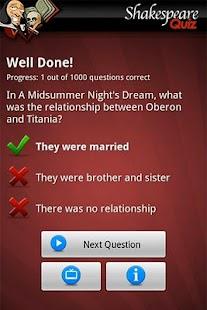 Ultimate Shakespeare Quiz- screenshot thumbnail