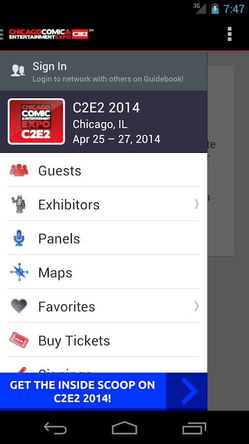 C2E2 2014 - screenshot