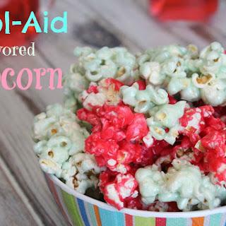 Kool-Aid Flavored Popcorn