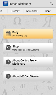 Collins French Dictionary - screenshot thumbnail