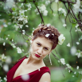 Cherry by Виктория Нарчук - People Portraits of Women
