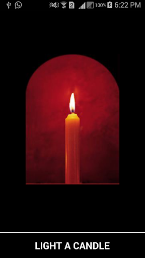 Pray With Candle