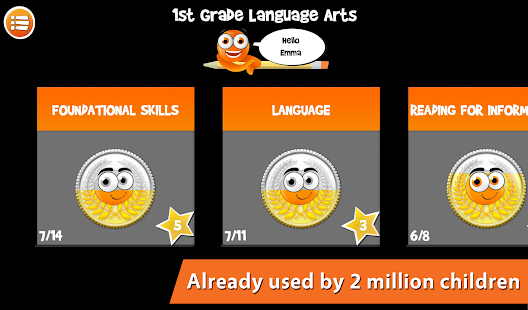 iTooch 1st Grade Language Arts