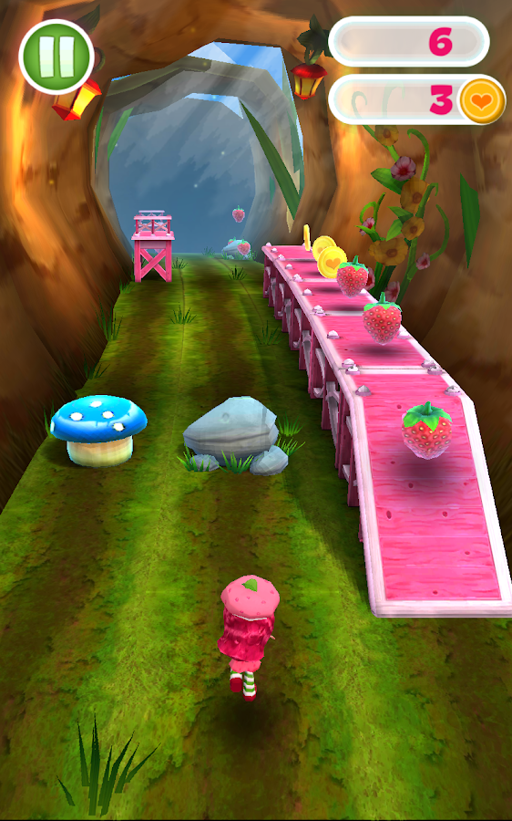 Strawberry Shortcake BerryRush- screenshot