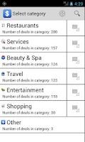 Screenshot of Deals Anywhere