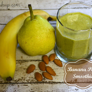 Banana Pear Smoothie