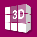 3D Interior Room Design icon