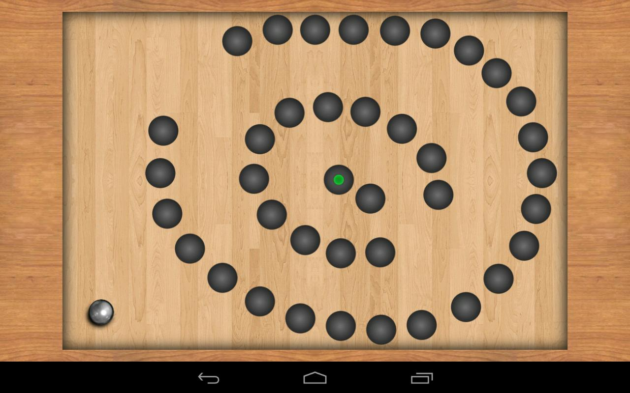 Teeter Pro - free maze game- screenshot