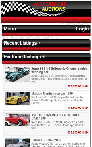【免費運動App】Motorsport Auctions-APP點子