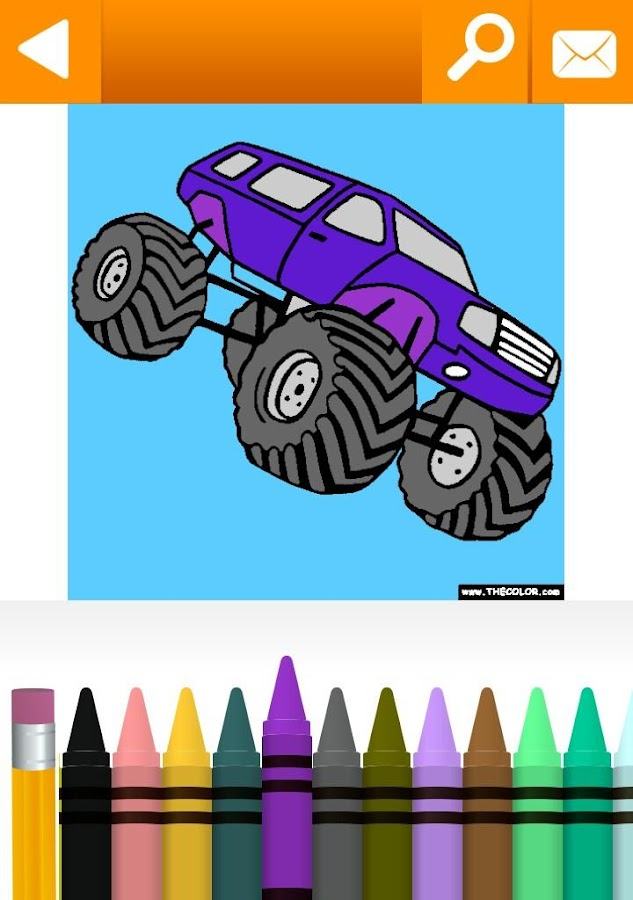 Vehicles Coloring Book Free - screenshot