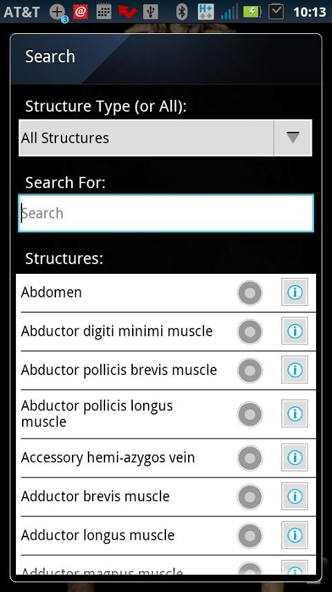 AnatomyLab- screenshot