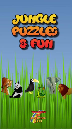 Jungle Puzzle Games