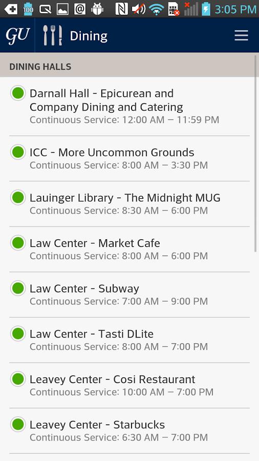 Georgetown Mobile - screenshot