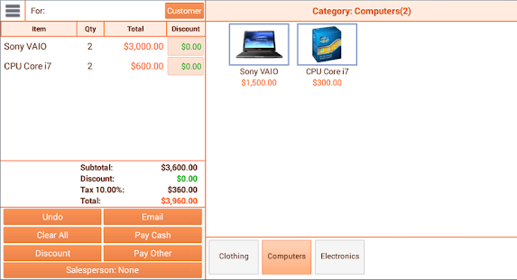 Instant Cash Register - screenshot thumbnail