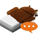 GOSMS Theme ICS logo