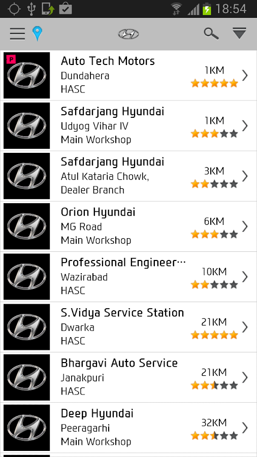 Hyundai Care - screenshot