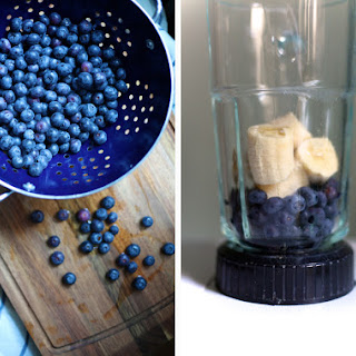 Blueberry Banana Smoothie Without Yogurt Recipes.