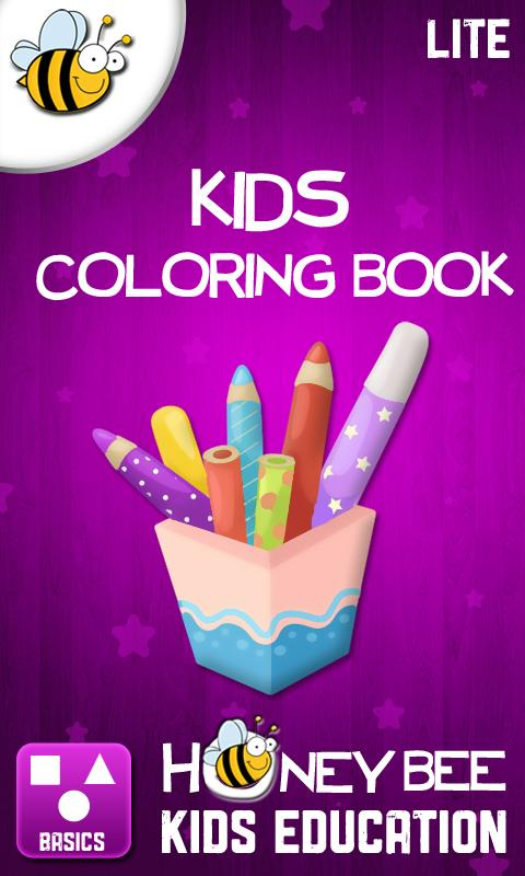 Kids Coloring Book Lite- screenshot