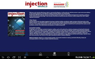 Screenshot of Injection World magazine