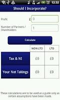 Screenshot of Tax Apps UK