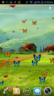 Galaxy Butterflies wallpaper