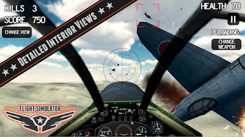 Screenshot of Battle Flight Simulator 2014